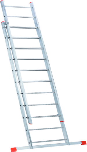Extension ladder two sections