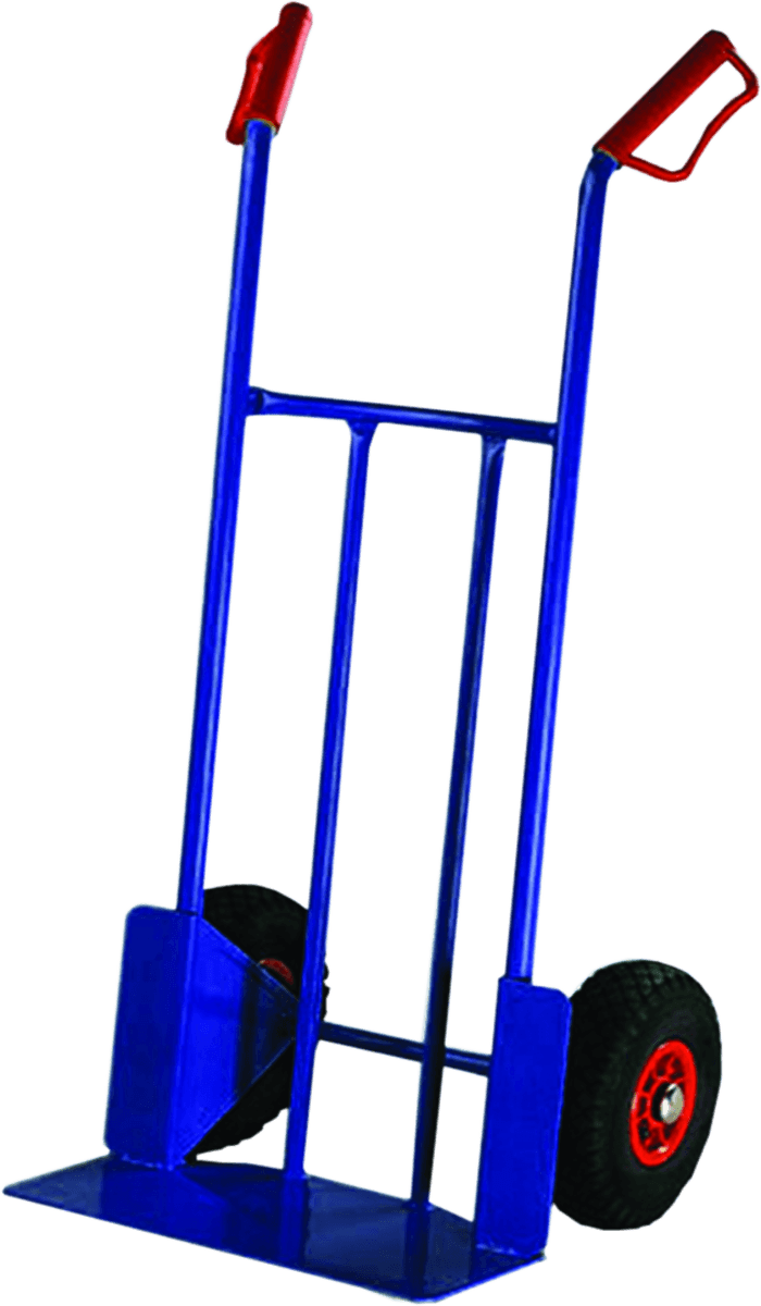 Transport trolley for barrels